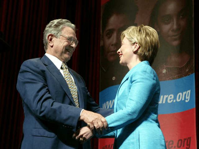Clinton E-mails Show George Soros Gave Sec of State Foreign Policy Marching Orders