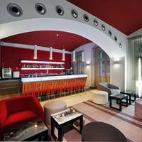 Hotel Red & Blue Design in Tsjechië, CZ - Steden,
