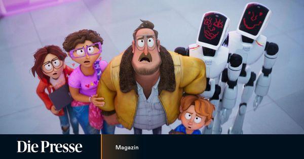 Eine Familie kämpft gegen die Maschinen