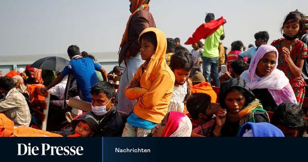 Bangladesch siedelte noch mehr Flüchtlinge auf umstrittene Insel um