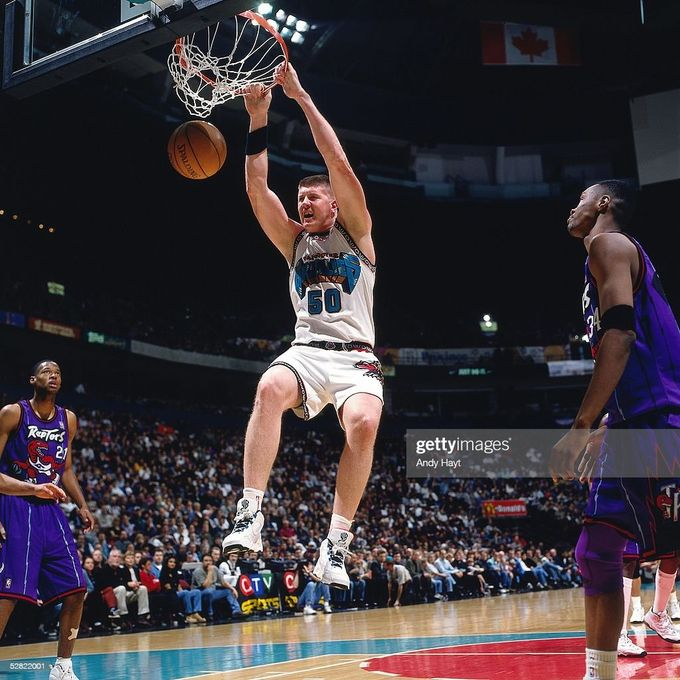 "灰熊介紹 - The ""Big Country"" Bryant Reeves"
