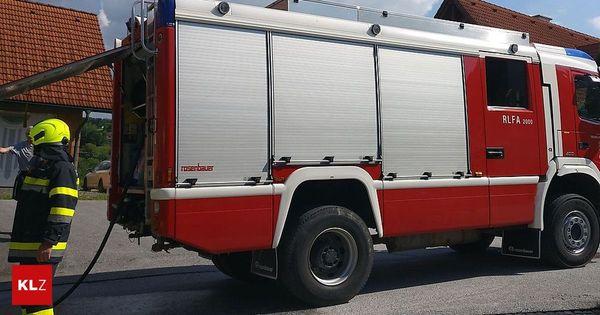 Anger: Brotbackofen ging in Flammen auf, eine Person verletzt
