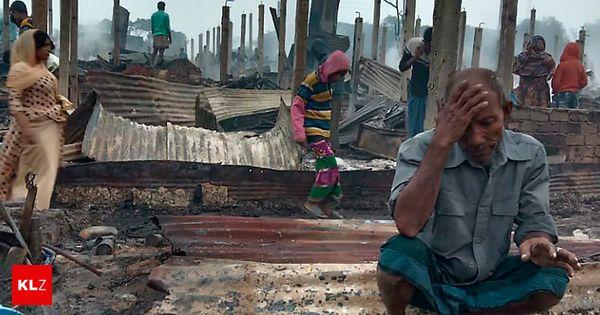 Bangladesch: Tausende obdachlos nach Großbrand in Rohingya-Flüchtlingslager