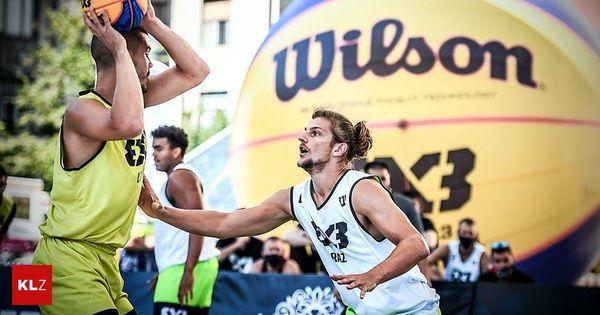 3x3-Basketball: Team Graz bei World-Tour-Premiere auf Platz sieben