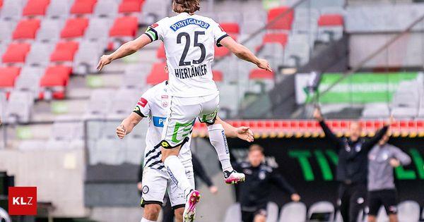 WSG Tirol - Sturm 2:3: Die Grazer wackelten, holen aber drei wichtige Punkte