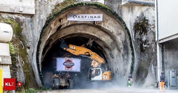 Verzögerter Baustart: Bau der zweiten Karawankentunnel-Röhre auch in Slowenien begonnen