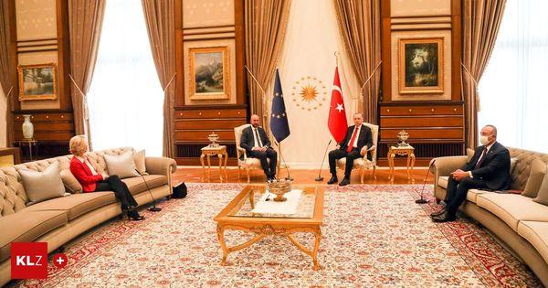"Gedemütigte EU "" Auf Erdoğans Diwan Stefan Winkler """