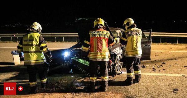 S36 bei Spielberg: Pkw überschlug sich bei nächtlichem Unfall