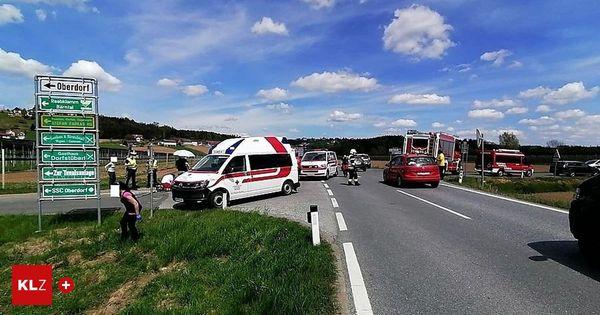 Mitterdorf an der Raab: Motorradfahrerin nach Unfall mit Pkw im künstlichen Tiefschlaf