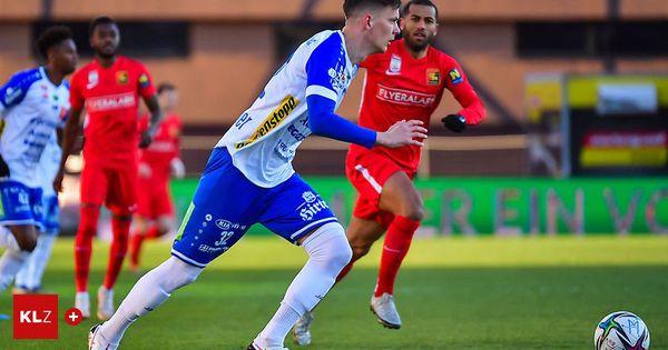 Kein Spiel verpasst: Hartbergs Felix Luckeneder ist der Dauerläufer in der Quali-Gruppe