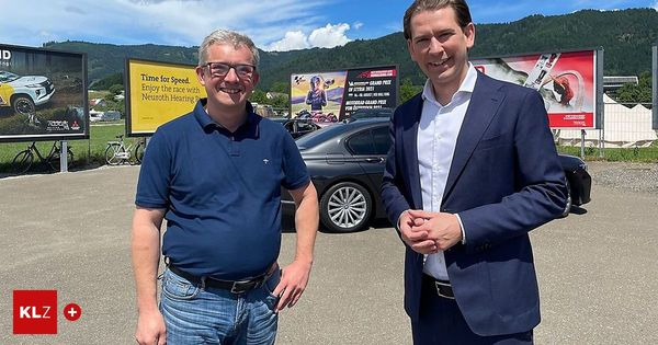 Bundeskanzler am Ring: Sebastian Kurz: Ich hoffe auf einen Sieg von Max Verstappen