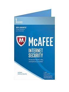 1600128868: McAfee 2017 Internet Security 1 Device