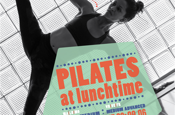 Pilates at lunchtime 2019