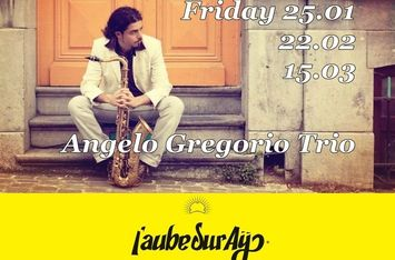 Jazz & Champagne with Angelo Gregorio Trio