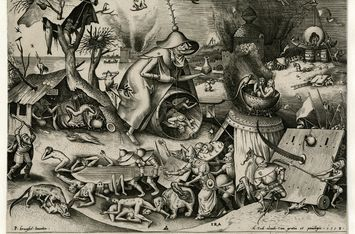The World of Bruegel in Black and White