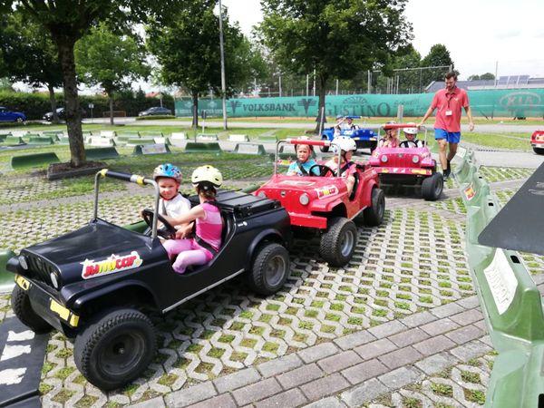 Verkehrsparcours Andorf: Ein Ferienspaß mit Gas und Bremse