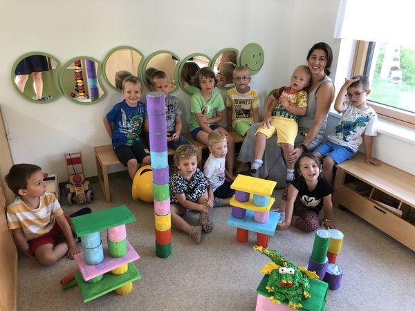 Einfach näher dran in Neudorf bei Parndorf: Alterserweiterte Gruppe im Kindergarten