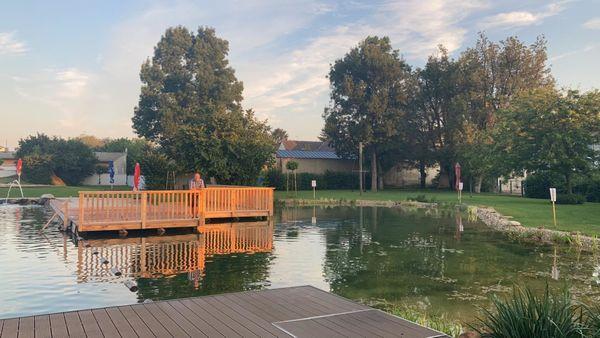 Einfach näher dran in Neudorf bei Parndorf: Bründlbad wurde saniert