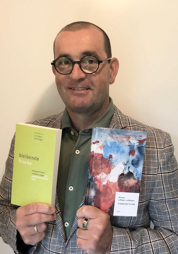 Thomas Schlager-Weidinger: Lyriker veröffentlicht zwei neue Gedichtbände