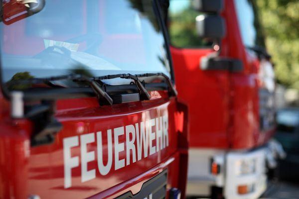 Feuerwehreinsatz: Maschine ging in Flammen auf