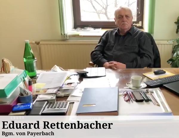 Extrem testwilliger Bürgermeister: Edi Rettenbacher hat 15 Corona-Tests über sich ergehen lassen