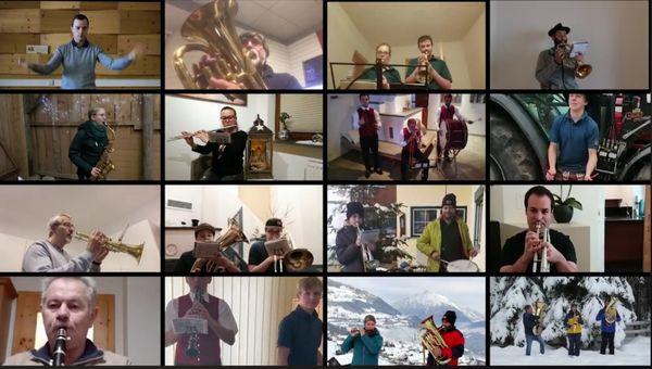 Generalversammlung im Zeichen von Corona: Tiroler Blasmusikverband tagte online