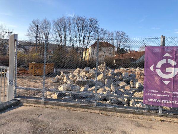 Stadt Krems: Die alte Stadtgärtnerei in Krems ist eine Baustelle