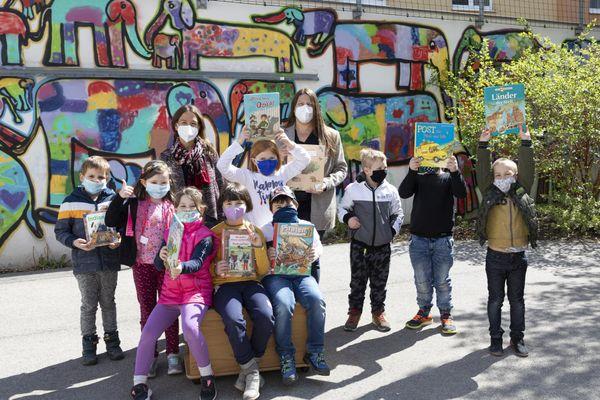 Stadt Krems: Volksschüler heben Schatz aus Bücherkiste