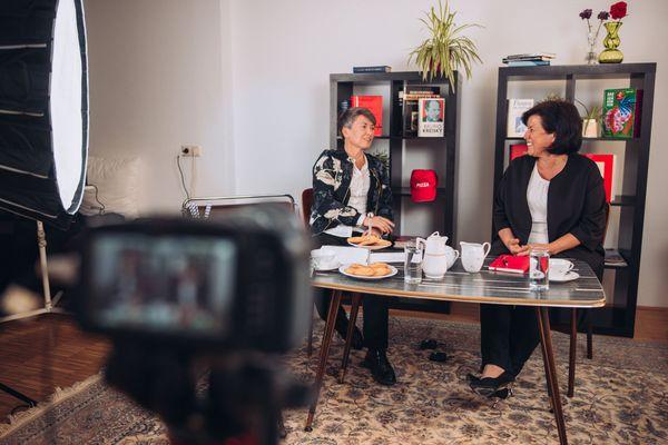 Livestream via Facebook: Birgit Gerstorfer online zu Besuch im Bezirk Kirchdorf