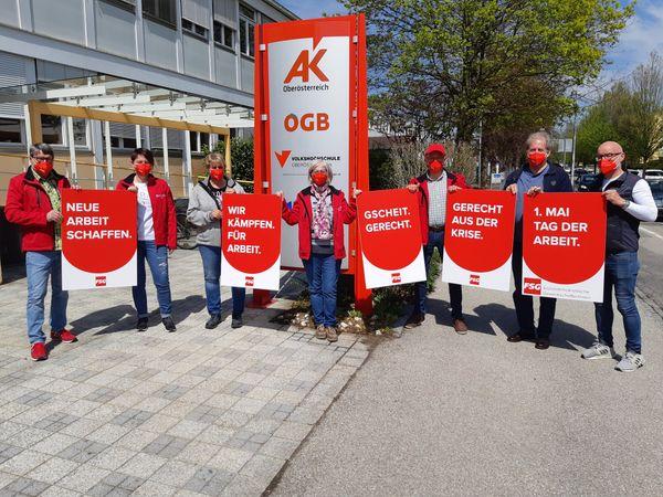 Bezirk Ried: FSG Ried fordert Politik zum Kampf um Arbeitsplätze auf