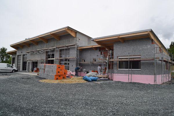 Noch heuer fertig: Bau des neuen Bauhofs in Riedlingsdorf schreitet voran