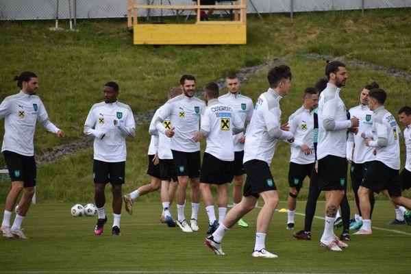 Bad Tatzmannsdorf ÖFB-Herrennationalteam in der Euro-Vorbereitung