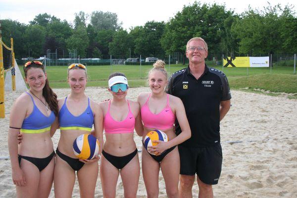 Leibnitz: Turniere für die Jugend im Beachvolleyball