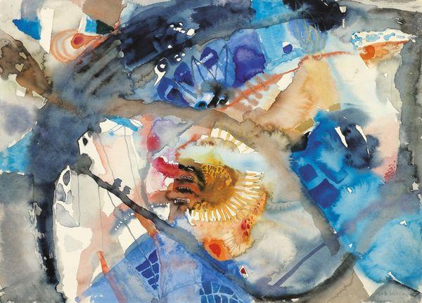Verkaufsausstellung in der Galerie bei der Albertina ▪ Zetter: Verlängert bis 19. Juni: LOTTE BERGER. Aquarelle