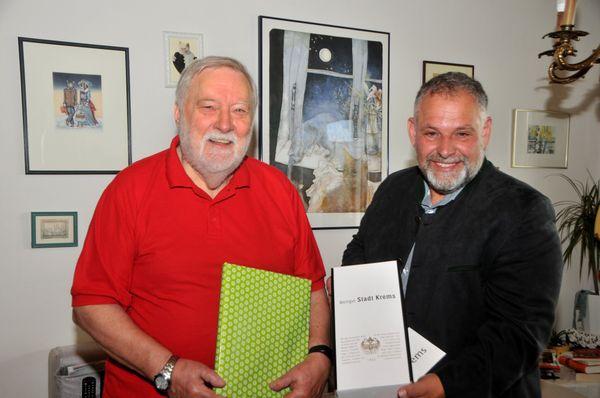 Stadt Krems: Vizebürgermeister gratuliert Kremser Jubilar