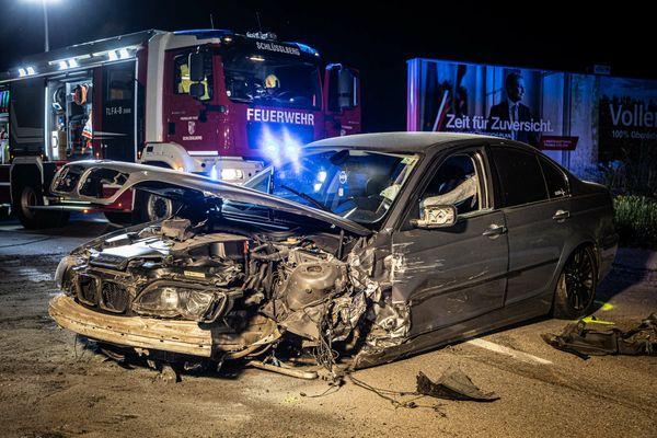 Ins Schleudern gekommen: Unfall forderte drei Verletzte in Grieskirchen