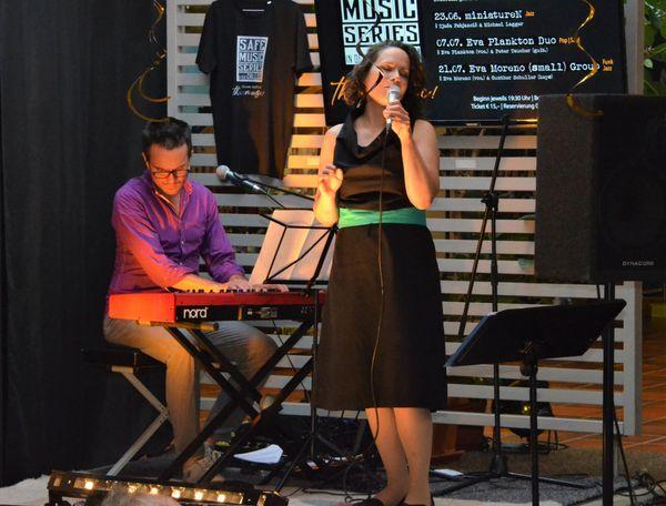 Safe Music Series Trofaiach: Jazz mit Tjaša Fabjančič und Michael Lagger: Purer Jazz in der Chillerei
