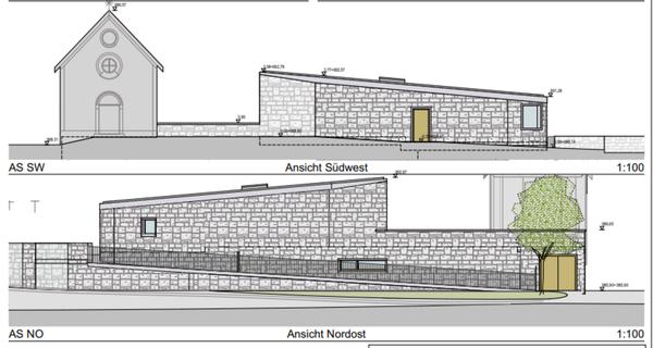 Baustart 2022: Eine neue Totenkapelle für Neustift