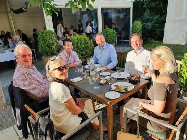 Kulturgenuss: Korneuburger Rotarier in Grafenegg