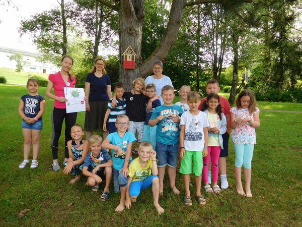 Umeltschutz: Volksschüler aus Rohrbach nahmen an UmweltLabs teil