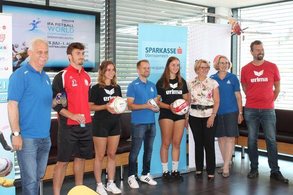 Faustball WM & EM in Grieskirchen: Ziel ist die Goldmedaille in allen Bewerben