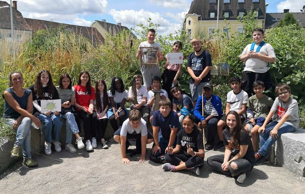 """Umwelt:Spiel:Raum"": Schüler des Schauergyms erforschten die Natur"