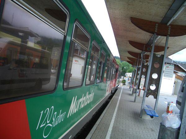Zukunft der Murtalbahn: Bekenntnisse, Forderungen, Anträge und Gespräche
