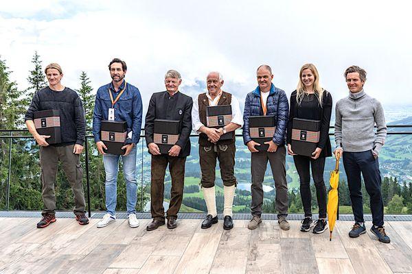 Kitzbüheler Ski Club: K.S.C.-Medaillenausstellung wurde feierlich eröffnet
