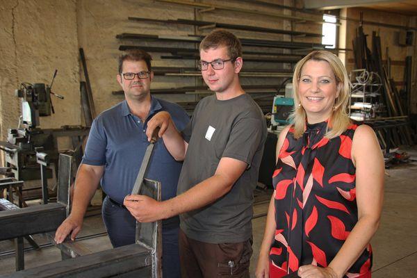 Landeslehrlingswettbewerb der Metalltechniker: Andauer belegt dritten Platz
