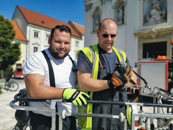 Tierrettung: Freiwillige Feuerwehr Bruck befreite Taube