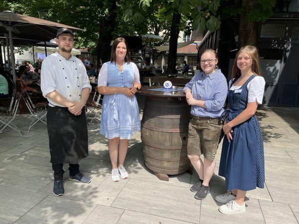 Top-Arbeitgeber: Im Hofbräu am Steinertor gibt´s Lehrlingsausbildung mit einem dicken Plus