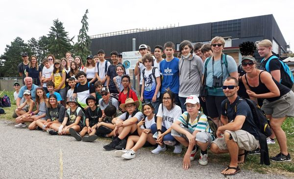 Schulexkursion zu den Finkenwiesen