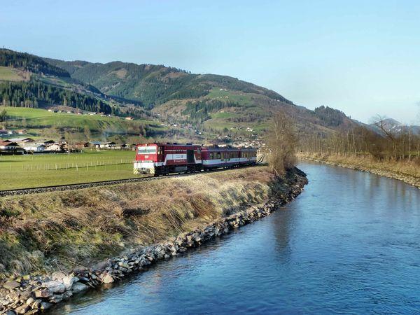 Pinzgauer Lokalbahn: Schienenersatzverkehr zwischen Niedernsill und Krimml