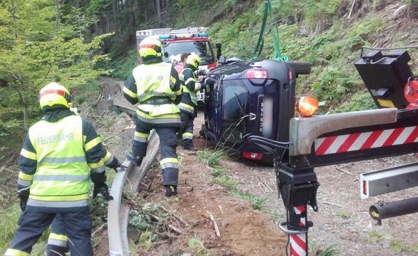 Wurzenpass: Bremse versagte - Auto kam bei Abfahrt ins Schleudern